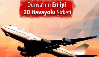 Dünyanın En İyi 20 Hava Yolu Şirketi