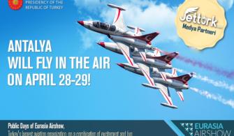 Dünya Havacılık Sektörü Antalya'da Buluşuyor!