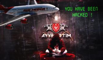 Air İndia Türk Hackerlar Tarafından Hacklendi!
