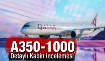 Qatar Airways A350-1000 Uçağı Detaylı Kabin İncelemesi