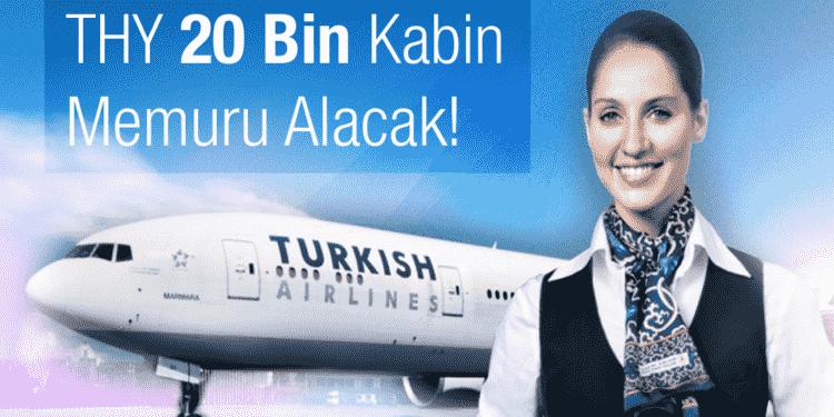 THY 20 Bin Kabin Görevlisi 900 Pilot Alacak!