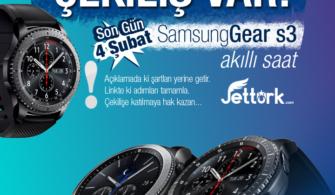 Samsung GearS3 Akıllı Saat Çekilişi!